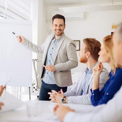 Erfolgreich Präsentationen halten